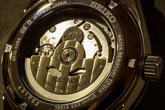 Caseback of Seiko SARG011 (anthonyleungwatches) Tags: leica lumix hongkong mechanical watch olympus panasonic automatic seiko f28 45mm jdm dg omd lightroom mij m43 mft 23j em5 23jewels macroelmarit caseback 6r15 5sports microfourthirds sarg011
