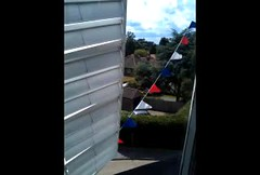 Holgate Windmill with bunting - video (2)