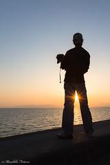 When You love Somebody (Masahiko Futami) Tags: ocean family sunset sea portrait sky cloud nature animal silhouette japan canon person asia photographer            eos5dmarkiii