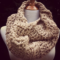 Handmade Icelandic chunky infinity scarves and cowls available for custom order now!                      https://www.etsy.com/shop/JackandJayneLove (jackandjaynelove) Tags: seattle brown fashion scarf cozy vegan big beige warm natural hipster huge hood nordic boho unisex thick alternative cowl