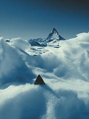 TOblerone vs Matterhorn, zermatt!
