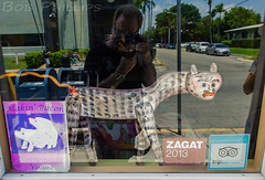 Makin' Bacon in Key West (tropicdiver) Tags: reflection florida keywest floridakeys 2014 makinbacon