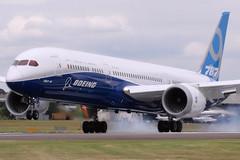 Boeing 787-9 Dreamliner (nickchalloner) Tags: show fab air 9 airshow international boeing farnborough 787 eglf dreamliner 7879 n789ex