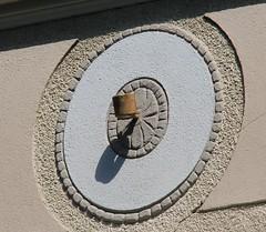 (:Linda:) Tags: shadow wall germany bavaria town coburg franconia circular flagholder