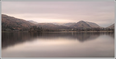 Smooth Serenity (spodzone) Tags: longexposure trees light panorama lake motion colour reflection art nature water lines composite manipulated reflections lens landscape photography flora dynamic emotion affection unitedkingdom grasmere space horizon lakedistrict aspiration gimp places calm symmetry hills equipment filter zen cumbria vista dreamy serene colourful areas simple toned solitary pure contrasts tranquil hdr stacked airy downsouth elegance gbr timescale digikam tonemapped landwater skyearth shapeandform dulllight rawconversion nd1000 enfuse rawtherapee timeflows calmstill statesofwater luminancehdr sony1855 darktable digitallowpass digitalc2g timefulness