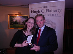 "Joanna with  Taoiseach Enda Kenny • <a style=""font-size:0.8em;"" href=""http://www.flickr.com/photos/125110290@N05/14592171823/"" target=""_blank"">View on Flickr</a>"