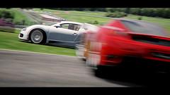Veyron   Enzo (RaY29rus) Tags: red martin top gear ferrari bull ring bugatti supercar aston