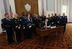 07-07-2014 Alabama Honor Guard Ribbon created by Executive Order 45