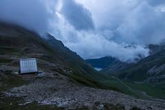 Wolkenstimmung am Griespass (Joachim S.) Tags: mountains trekking switzerland see wolken berge gebude valais bivouac biwak obergoms