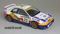 Subaru Impreza WRC98 Stomil - 26 (scale24) Tags: scale studio 22 model rally plastic 124 subaru 1998 catalunya tamiya 27 impreza decals scalemodel 24199 st27 wrc98 dc144