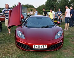 Mclaren MP4-12c (Fast an' Bulbous) Tags: summer england hot classic field car speed evening nikon power northamptonshire july gimp fast mclaren tamron rare meet supercar d90 earlsbarton 12c mp412c mclarenmp412c