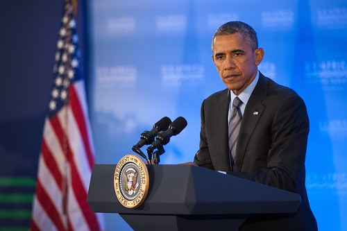 President Obama Holds a News Conference at Conclusion of U.S.-Africa Le