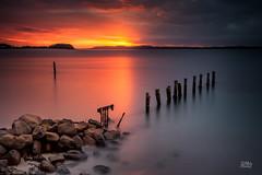 Shoal Bay (Mike Hankey.) Tags: sunset seascape published portstephens shoalbay focus14