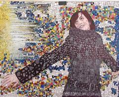 Rising white (ANTONIOM.) Tags: art collage design mosaico deco colori originale carta unico colla