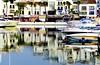 (camus agp) Tags: españa azul muelle andalucía agua barcos balcony malaga puertobanus marbella reflejos puertos balcones fachadas puertobanús atraque embarcaderos