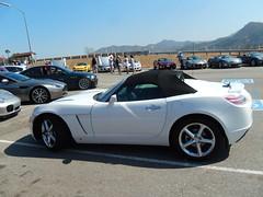 (picsbyjulius) Tags: sky cars chevrolet sport 4 engine turbo solstice cylinder pontiac saturn roadster softtop gxp kappas convertibleragtop kappasaug10th2014
