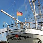 Segelschulschiff »Gorch Fock (1)« im Stralsunder Hafen vor Anker (8) thumbnail