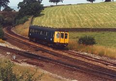 TDB975023 (ee20213) Tags: br derbyshire peakdistrict britishrail brblue chinley 55001 class122 tdb975023 chinleyeastjunction