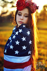 Del Rey (silvinaalvarengaph) Tags: flowers blue usa flower lana nature beautiful del born die state flag united young inspired jeans american rey states flowercrown flowerheadband