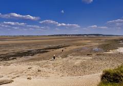 P1070061 (Paul Thickitt) Tags: sea sky beach water clouds island rocks wirral westkirby merseyside hilbre hilbreisland