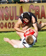"IMG_8154 (Go to ""Albums"" for all pics) Tags: club football collingwood dolphins pies magpies frankston vfl"