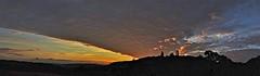 Sky Sectors (Deepgreen2009) Tags: sunset sky panorama cloud evening dusk wide angles surrey sectors