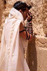 Jersusalem_Western Wall_Tefillin_1_Noam Chen_IMOT (Israel_photo_gallery) Tags: people man israel jerusalem prayer religion pray jew jewish oldcity judaica westernwall talit wailingwall kotel tefilin noamchen
