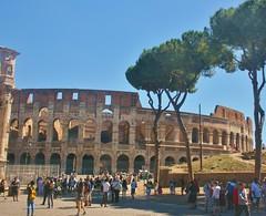 Colosseum (tallsmilesdown) Tags: italy rome colosseum