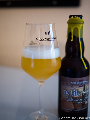 Crooked Stave Passion Fruit Petite Sour