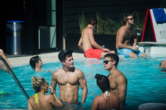 College Guys (jake.adams69) Tags: gay hot sexy men college boys pool pecs muscles fraternity partying guys southern frat abs bulge