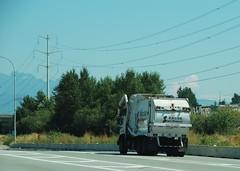 Port Coquitlam BC (Ian Threlkeld) Tags: canada nikon scenery driving bc disposal refuse portcoquitlam garbagetrucks d80 wasteremoval