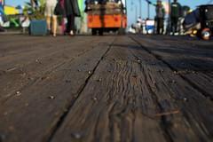 Santa Monica Pier's Floor (Malick) Tags: california wood texture pier losangeles unitedstates floor santamonica ground plank