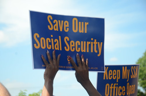 Rally at Minneapolis Social Security Office, From FlickrPhotos