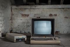 (joyrex) Tags: abandoned computer europa europe belgium decay belgië commodore derelict c64 zolder urbex verval verlaten commodore64 homecomputer vervallen maisondudirecteur cbm64 chateaududirecteur villadudirecteur