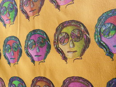 RASTA GUY YELLOW DETAIL (paysmage) Tags: wallpaper portrait orange guy face sunglasses fashion yellow yard fun glasses design lemon rainbow pattern purple sewing character gray multicoloured wrap popart fabric clay gift reggae rasta multicolor giftwrap repeat fabrics designers fatquarter spoonflower