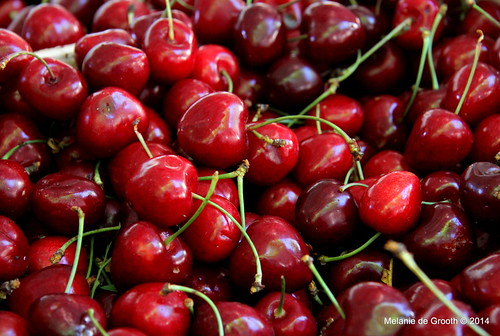 Cherries Close Up