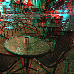 Coffee table 3D Anaglyph (aktuaroslo) Tags: red oslo 1 3d nikon cyan anaglyph stereo j1
