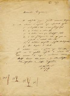 Golgi ordina la vetreria, 1872, ALPE, Archivio della Pia casa degli incurabili di Abbiategrasso, b. 19,2