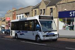 Stuarts Optare Solo YJ55YHG - Lanark (dwb transport photos) Tags: bus solo stuarts lanark optare yj55yhg
