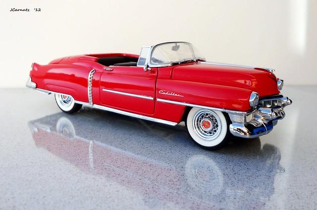 cadillac eldorado 1953 diecast franklinmint 124scale