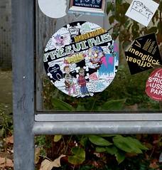 HH-Sticker 1654 (cmdpirx) Tags: street urban art public painting graffiti stencil nikon sticker artist post mail 7100 d space raum kunst strasse glue hamburg vinyl crew trading marker hh aerosol aufkleber kleber paket künstler öffentlicher