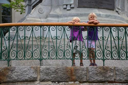 Everett & Violet In Old Quebec