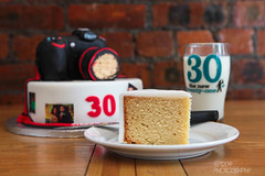 Week 38 - Cake (Ashey1209) Tags: camera food cake 30 milk drink decorative tasty slice treat pint decorate plain ricekrispies maderia