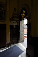 IMG_2664 (Juan Valentin, Images) Tags: door nyc newyorkcity church catholic manhattan religion chiesa porta upperwestside catolico puertas igleisa