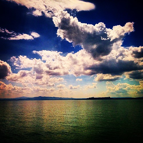 #clouds #lake