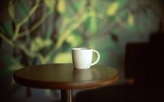 (NyYankee) Tags: green film 50mm bokeh f10 monaco ctedazur mug noctilux woodtable leicam6 frenchriviera fujivelvia50 starbuckscoffee reversalfilm rvp50 principalityofmonaco noctilux50mmf10 lacondamine beautifulwallpaper