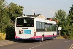 Volvo B7L Wright Eclipse (rear) (DennisDartSLF) Tags: bus eclipse volvo wright taunton 60914 b7l yg02dko thebusesofsomerset