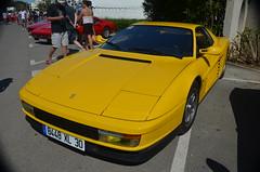 Ferrari Testarossa (benoits15) Tags: red horse cars car la grande meeting ferrari voiture scuderia supercar coches testarossa 2014 motte worldcars