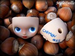Petite Blythe Custom N.85 by MoleDolls Carmen