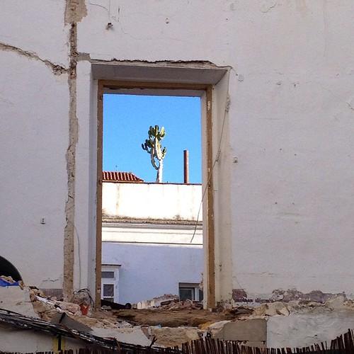 Ventana en San Hiscio. #Tarifa